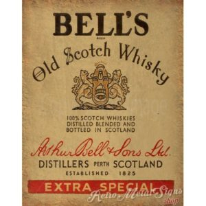 old vintage whisky
